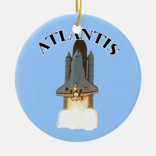 Atlantis Ceramic Ornament