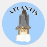 Atlantis Classic Round Sticker