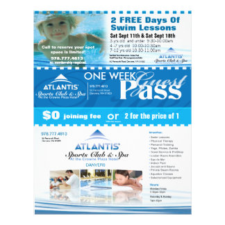 Atlantis Coupons Flyer