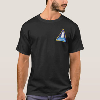 Atlantis Final Flight front and back T-Shirt