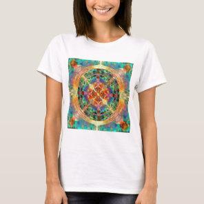 Atlantis inspired Rainbow Mandala T-Shirt