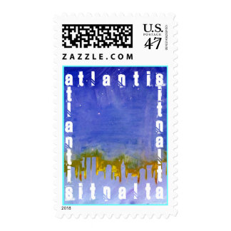 ATLANTIS LOST WORLD SYMBOL OF A LOST AGE Stamps