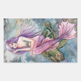 Atlantis Mermaid Sticker