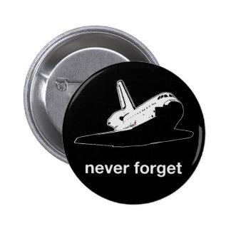 Atlantis - Never Forget Pins