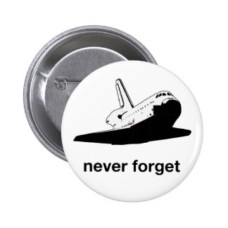 Atlantis - Never Forget Pin
