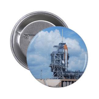 Atlantis on Launch Pad Pin