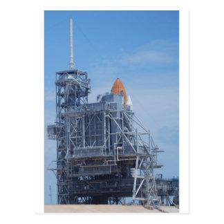 Atlantis on Launch Pad Postcard