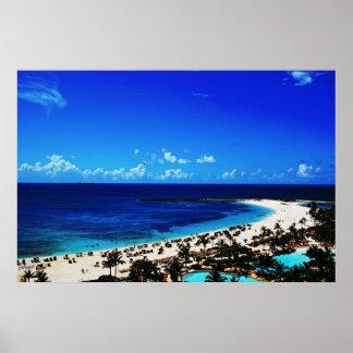 Atlantis, Paradise Island Posters