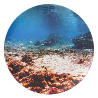 Atlantis Party Plates