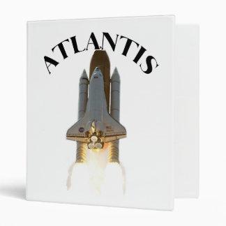 Atlantis rocket ring binder