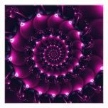Atlantis seashell (purple) photo print