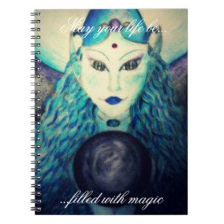 Atlantis.Seer. May you life be..Journal Notebook