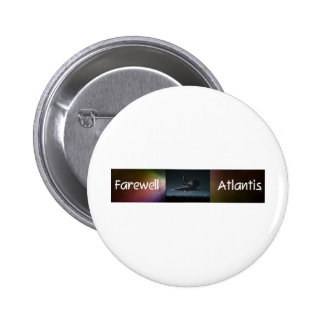 Atlantis Space Shuttle Pinback Buttons