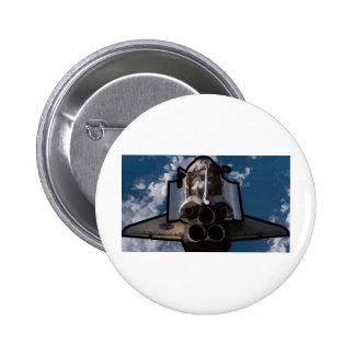 Atlantis Space Shuttle Pinback Button
