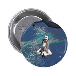 Atlantis Space Shuttle Button