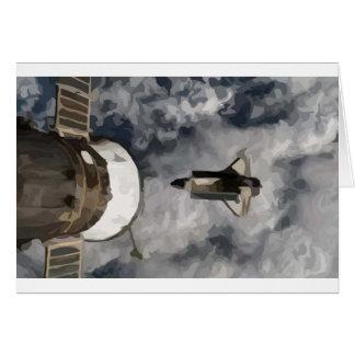 Atlantis Space Shuttle Card