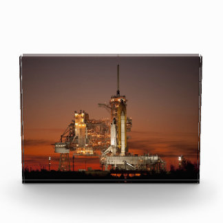 Atlantis Space Shuttle launch NASA Acrylic Award