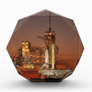 Atlantis Space Shuttle launch NASA Acrylic Award