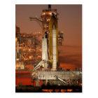 Atlantis Space Shuttle launch NASA Postcard