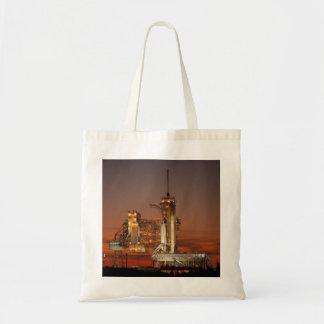 Atlantis Space Shuttle launch NASA Tote Bag