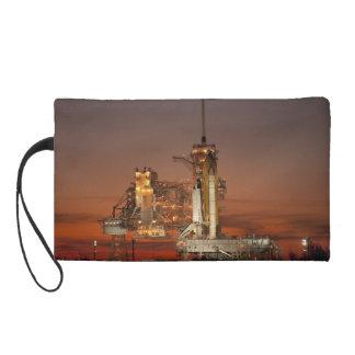 Atlantis Space Shuttle launch NASA Wristlet Purse