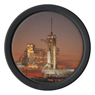 Atlantis Space Shuttle Poker Chips Set