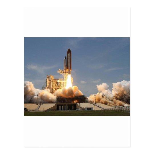 Atlantis Space Shuttle Postcard