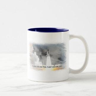 Atlantis Space Shuttle STS-135 Last Flight Two-Tone Coffee Mug