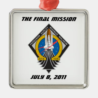 "Atlantis STS-135 ""The Final Mission"" Ornament"