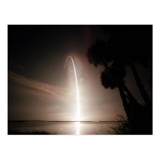Atlantis to Orbit Postcard