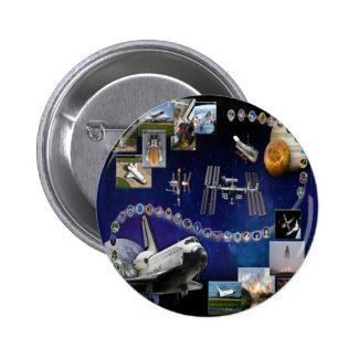 Atlantis Tribute OV 104 Pins