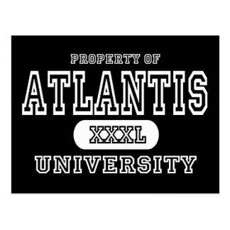 Atlantis Univeristy Dark Postcard