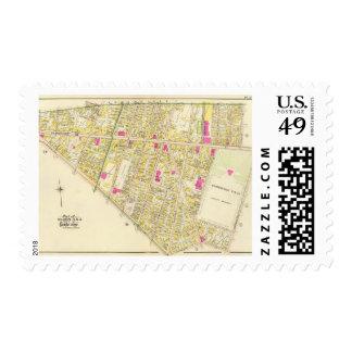 Atlas 17 de Cambridge Sellos Postales