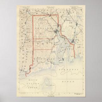 Atlas 2 de Rhode Island Póster
