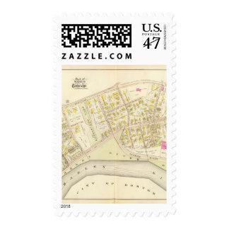 Atlas 3 de Cambridge Sello Postal