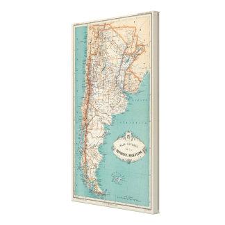 Atlas 3 de la Argentina Lona Estirada Galerías