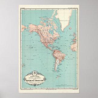 Atlas 3 de la Argentina Posters