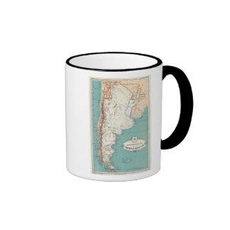 Atlas 3 de la Argentina Tazas De Café