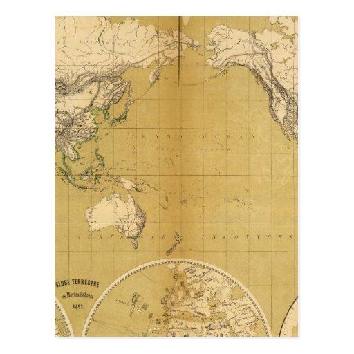 Atlas 3 post card