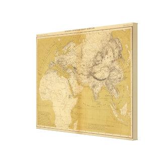 Atlas 4 lienzo envuelto para galerias