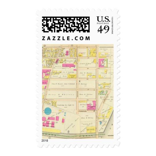 Atlas 6 de Cambridge Timbre Postal