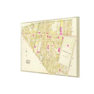 Atlas 7 de Cambridge Impresión En Lienzo