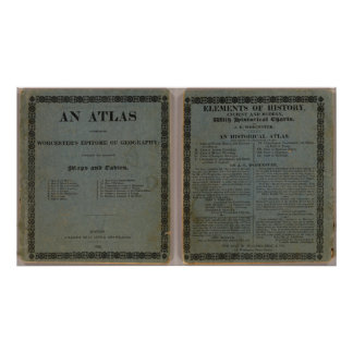 Atlas accompanying Worcester's Epitome Poster