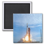 Atlas Agena target vehicle liftoff for Gemini 11 Refrigerator Magnets