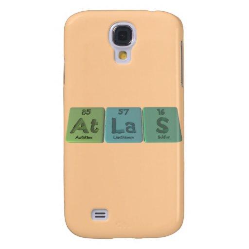 Atlas-At-La-S-Astatine-Lanthanum-Sulfur Samsung Galaxy S4 Case