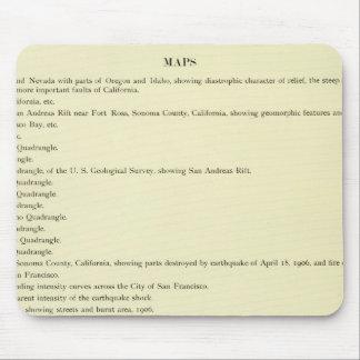 Atlas California earthquake, April 18, 1906 Mouse Pad