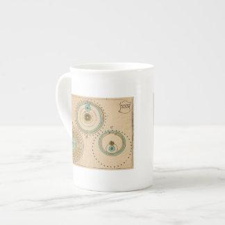 Atlas celestial 6 taza de porcelana