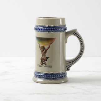 Atlas Conquers All by Street Justice Beer Stein