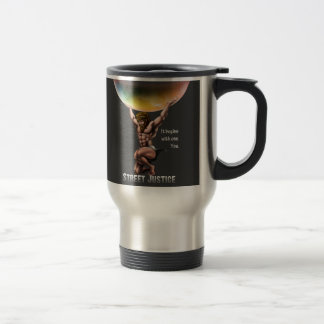 Atlas Conquers All*Personalized*by Street Justice Travel Mug