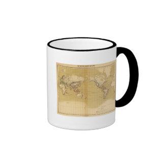 Atlas de 1550 tazas de café